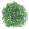 Tiny Flats 5X3.5mm Transparent Luster Chartreuse